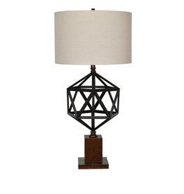 CRESTVIEW Devon Table Lamp DS
