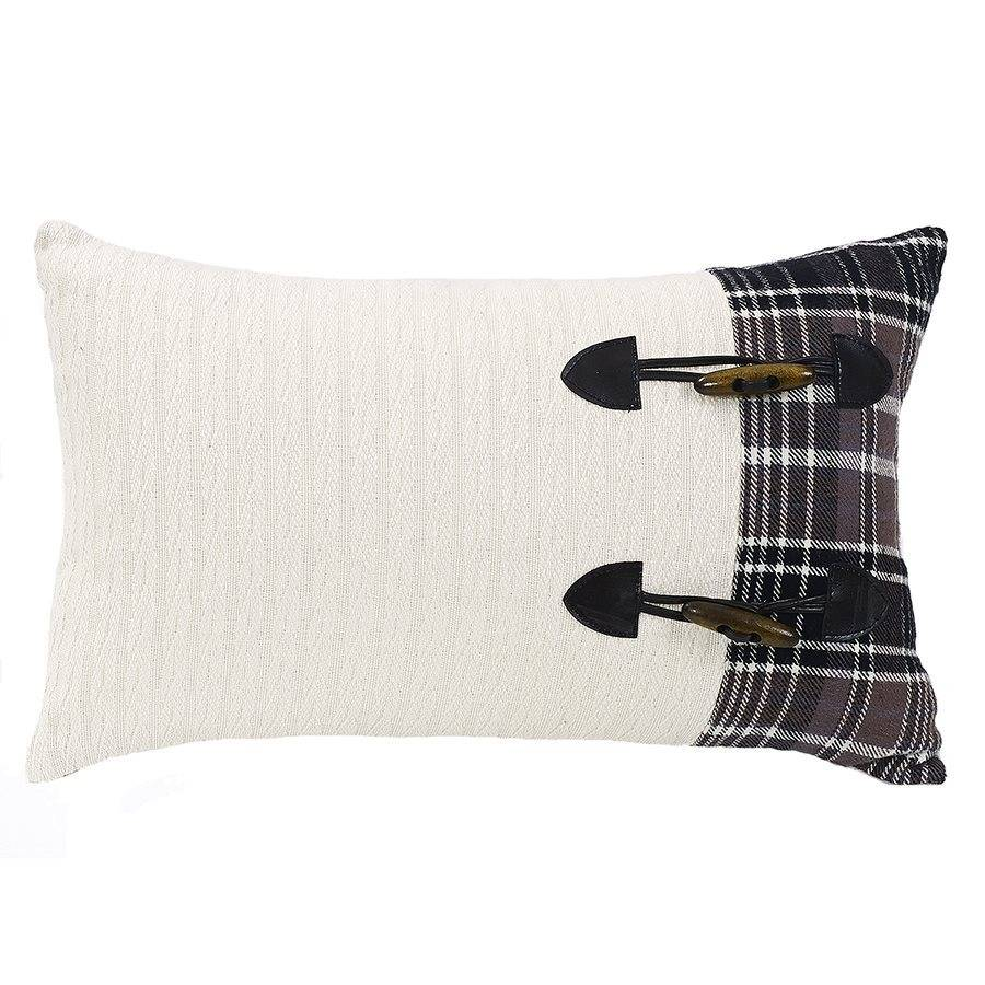 HIEND Whistler Toss Pillow with Toggle Buttons