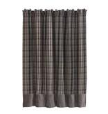 HIEND Whistler Plaid Shower Curtain