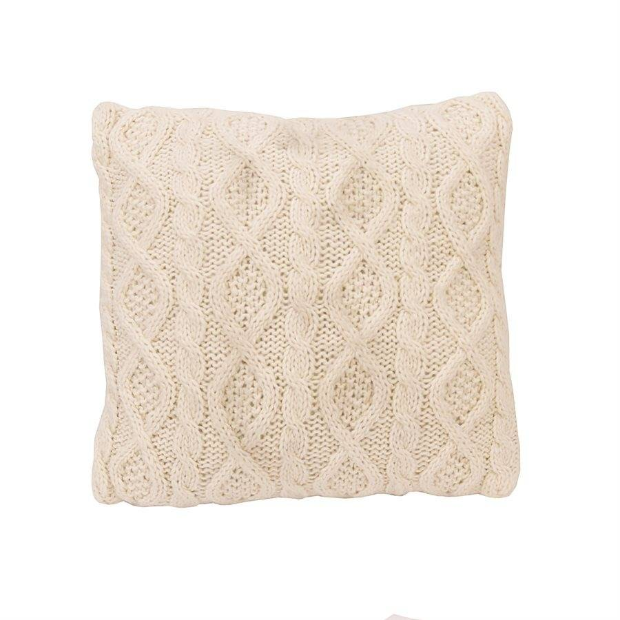 HIEND Cable Knit Pillow - Cream or Red