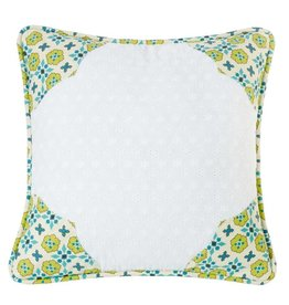 HIEND Decorative Pillow Floral Edge