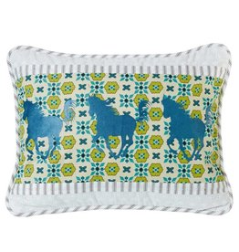 HIEND Decorative Horse Pillow