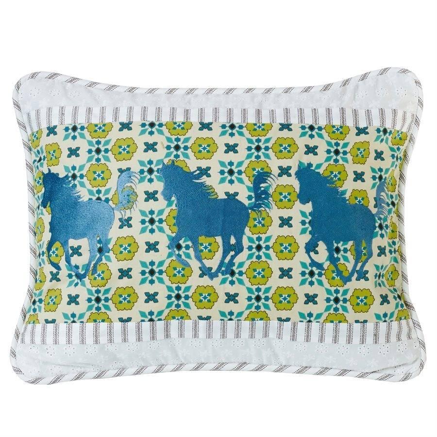 HIEND Decorative Horse Pillow