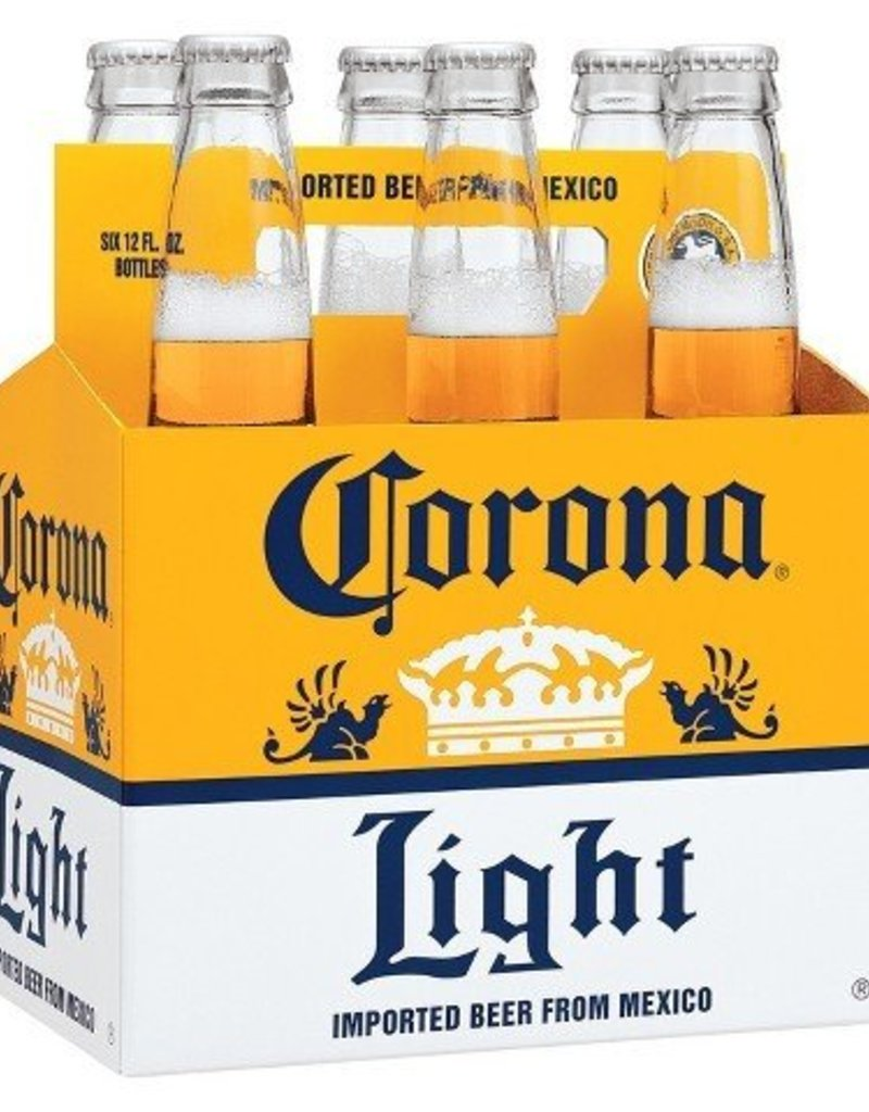 Corona Light 6pk 12 oz. btls