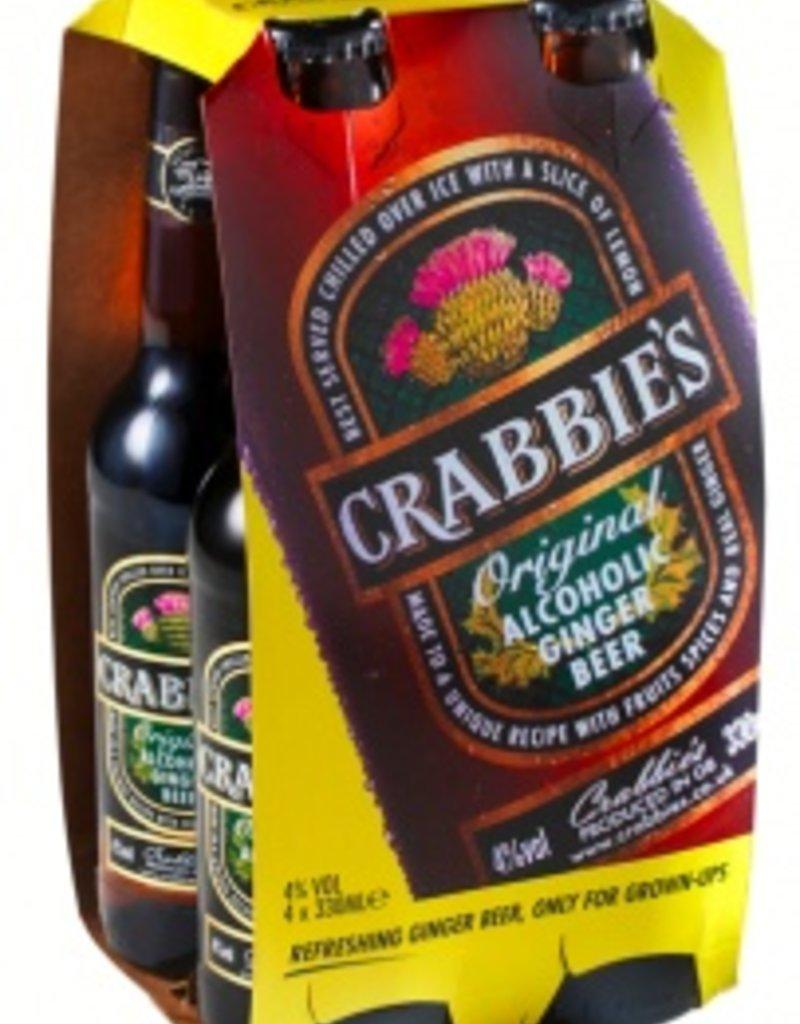 Crabbie's Ginger Beer four 330ml bottles