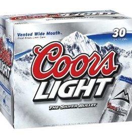Coors Light 30pk cans