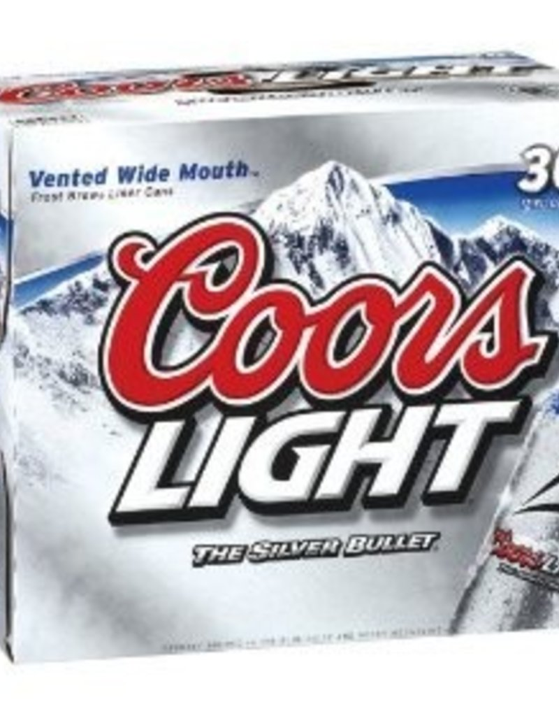Coors Light 30pk cans
