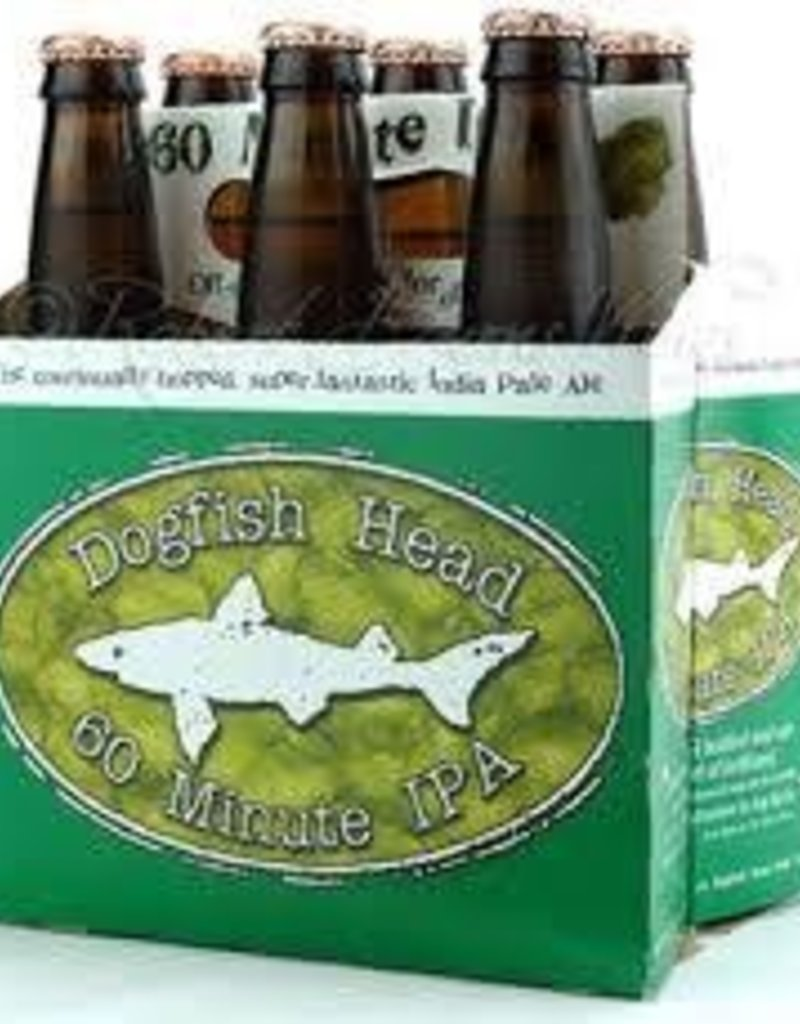 Dogfish Head Brewing Dogfish Head 60 Min IPA 6pk 12 oz. btls