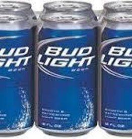 Bud Light 6pk  12 oz cans