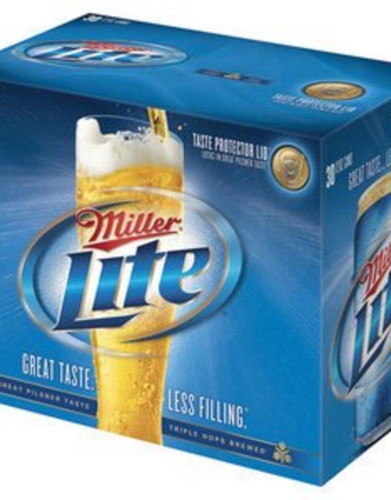 Miller Lite 30 Pack 12 oz. cans