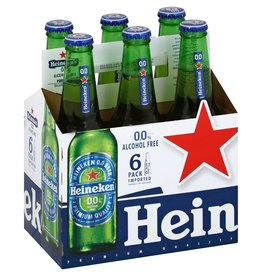 Heineken 0.0 6pk 12oz bottles