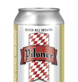 Manor Hill Brewing Co Manor Hill Pilsner 6pk 12 oz. cans