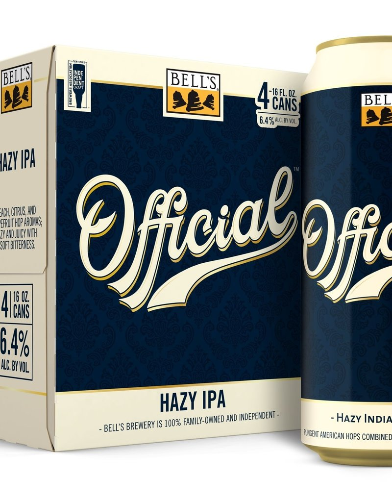 Bell's Official 6pk Hazy IPA 12oz cans
