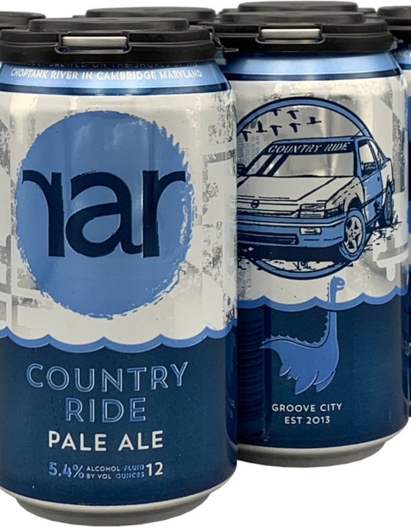 RAR Country Ride Pale Ale 6pk cans