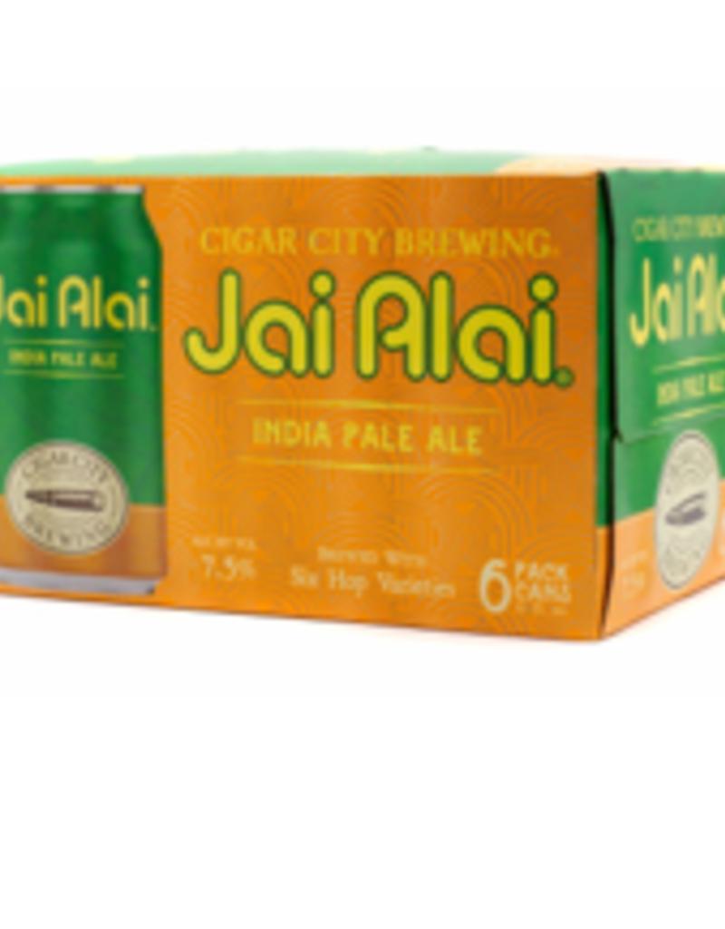 Cigar City Jai Alai IPA six pk 12 oz. cans