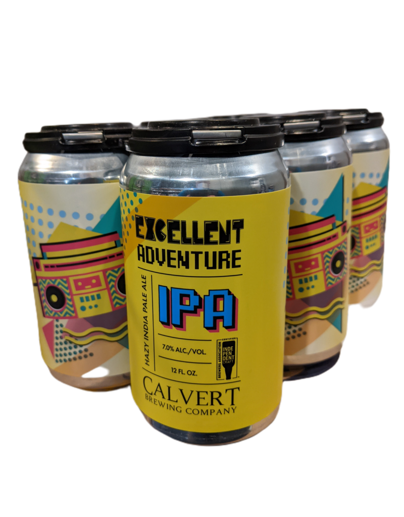 Calvert Excellent Adventure IPA 6pk. 12 oz. cans