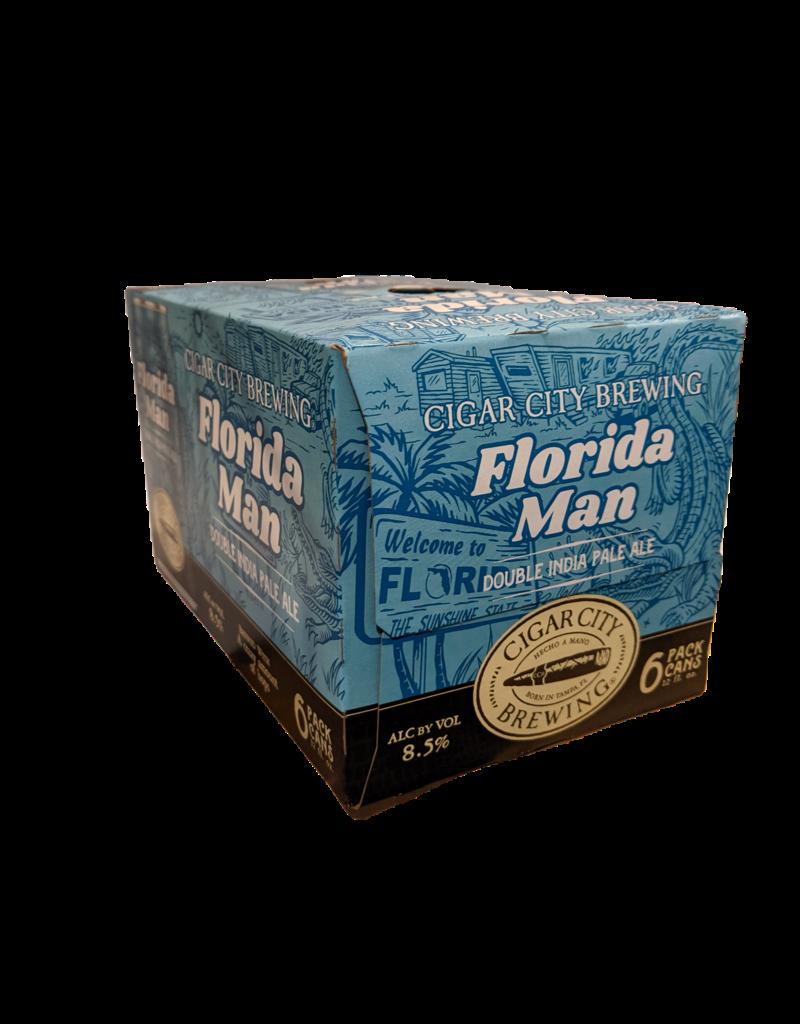 Cigar City 'Florida Man' 2x IPA 6pk 12 oz cans