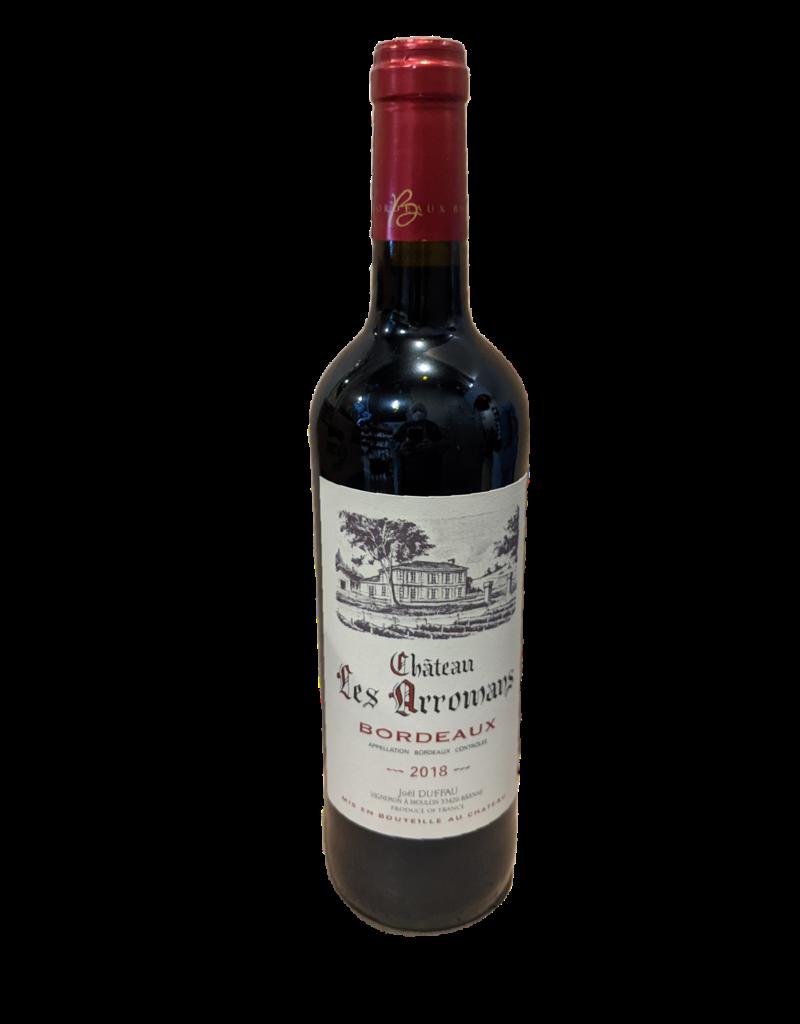 Ch Les Arromans Red Bordeaux 750ml