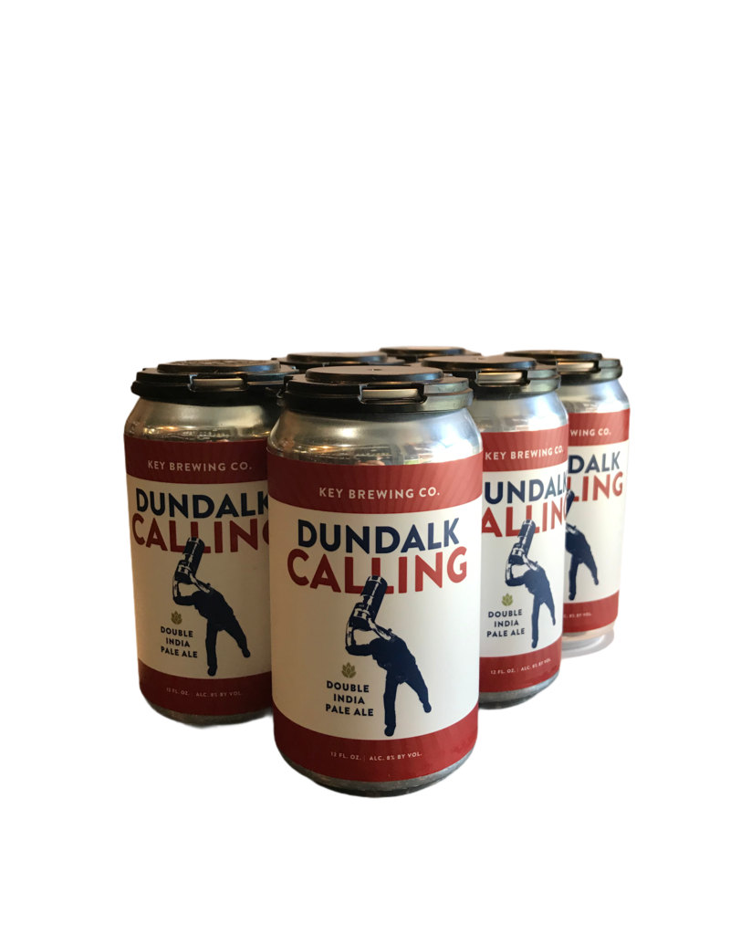 Key Brewing Dundalk Calling 2x IPA 6pk 12 oz cans
