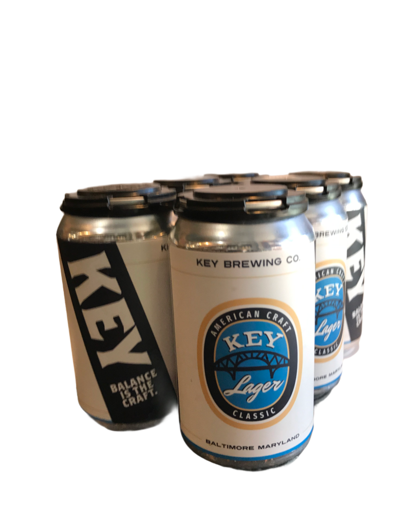 Key Brewing Co. Classic Lager 6pk 12 oz. cans