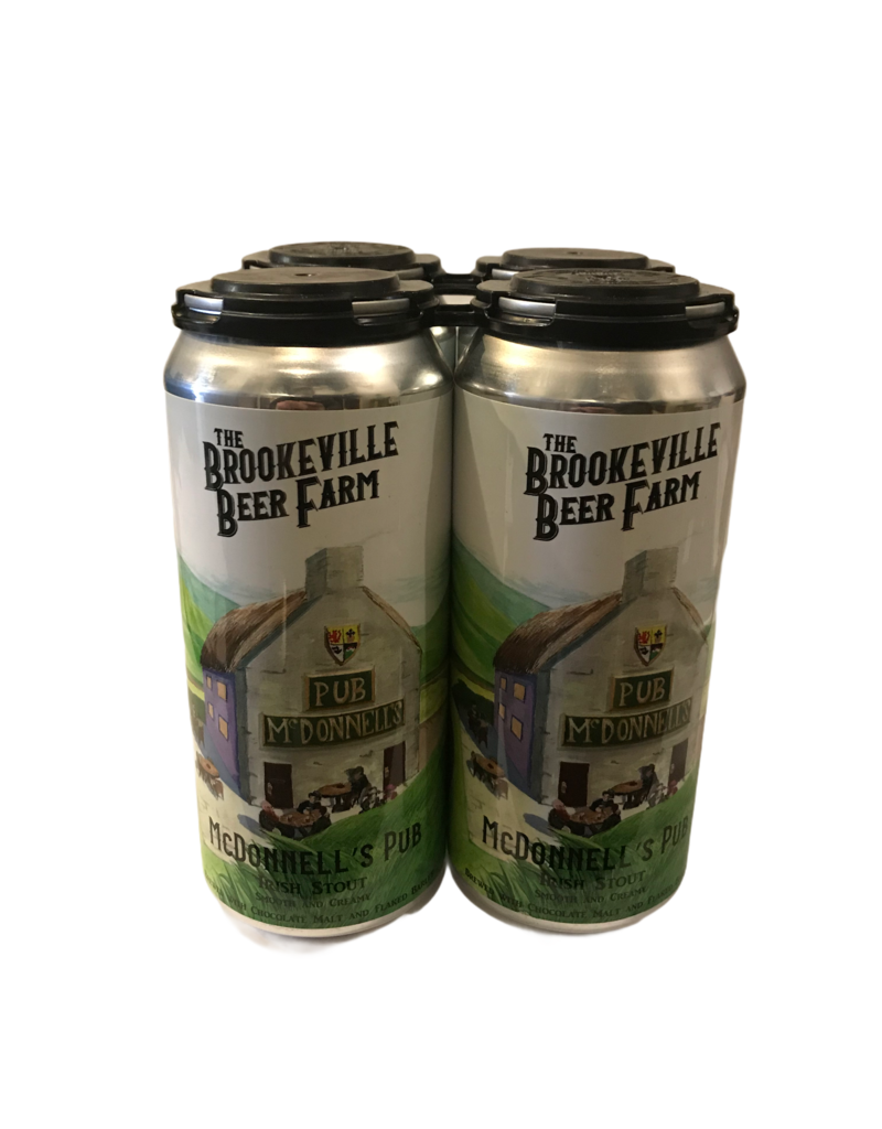 Brookeville Beer Farm McDonnell's Pub Irish Stout 4 pk 16oz. cans