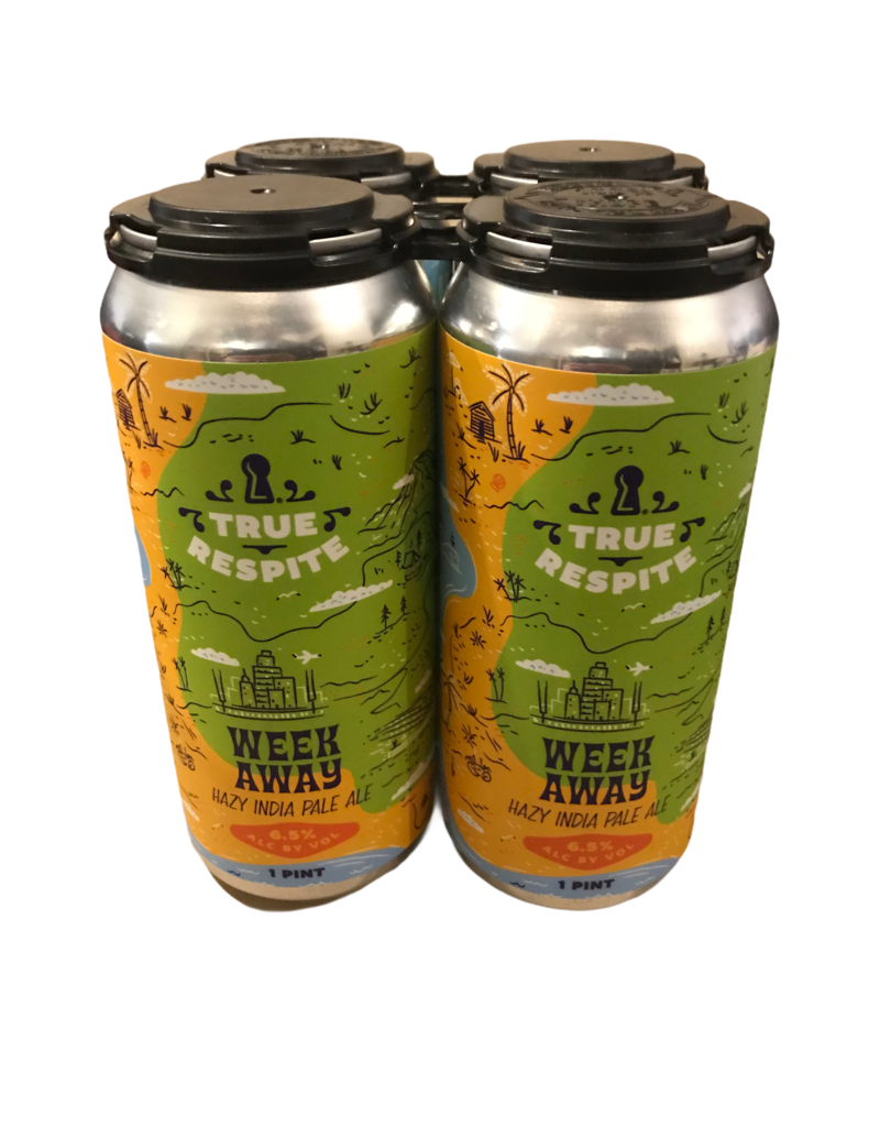 True Respite Week Away IPA 4pk 16oz. cans