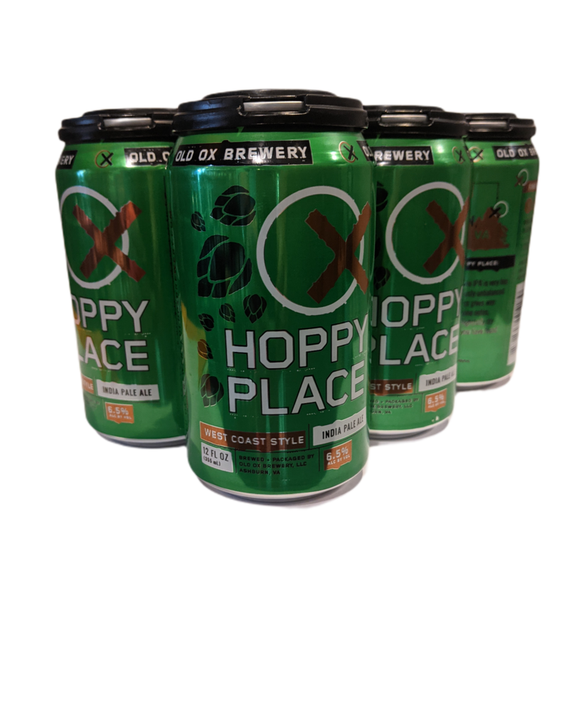 Old Ox 'Hoppy Place' West Coast IPA 6pk 12 oz cans