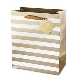 Ritzy Stripes Wine Bag