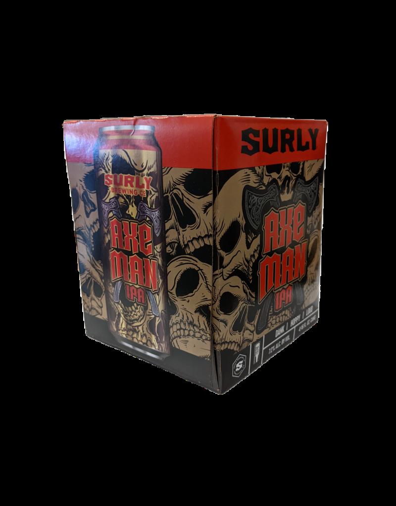 Surly Axe Man  DIPA 4pk 16 oz. cans