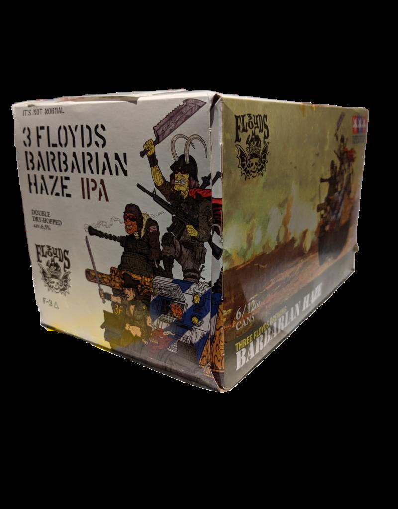 3 Floyds Barbarian Haze IPA 6pk 12 oz. cans
