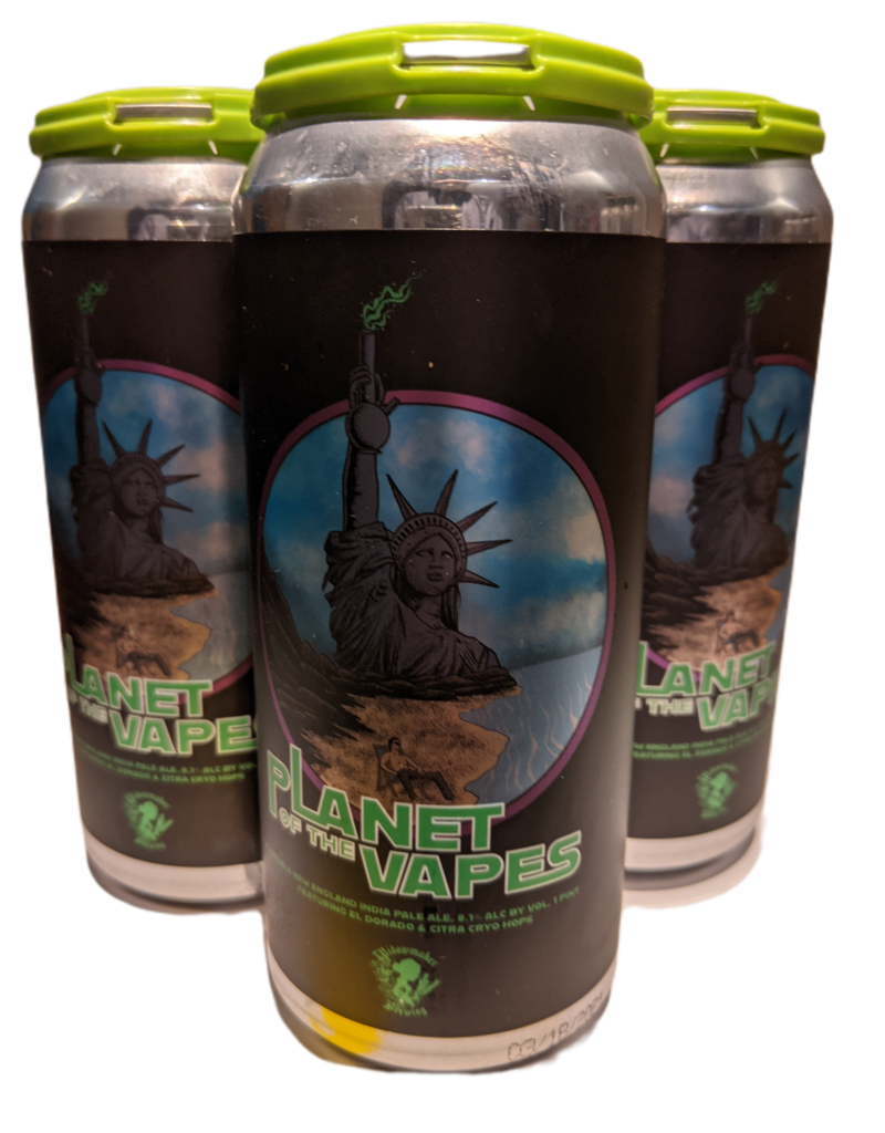 Widowmaker 'Planet of the Vapes' 2X NEIPA 4pk 16 oz cans