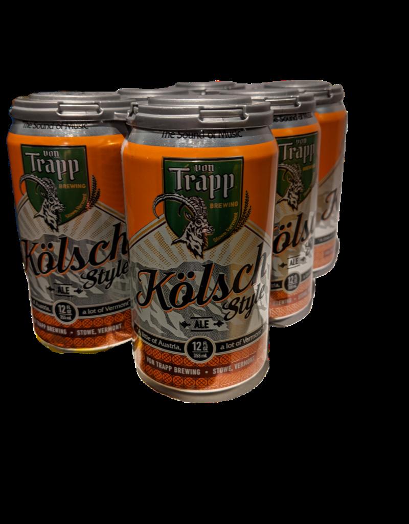 Von Trapp Kolsch Style 6 pack 12 oz cans