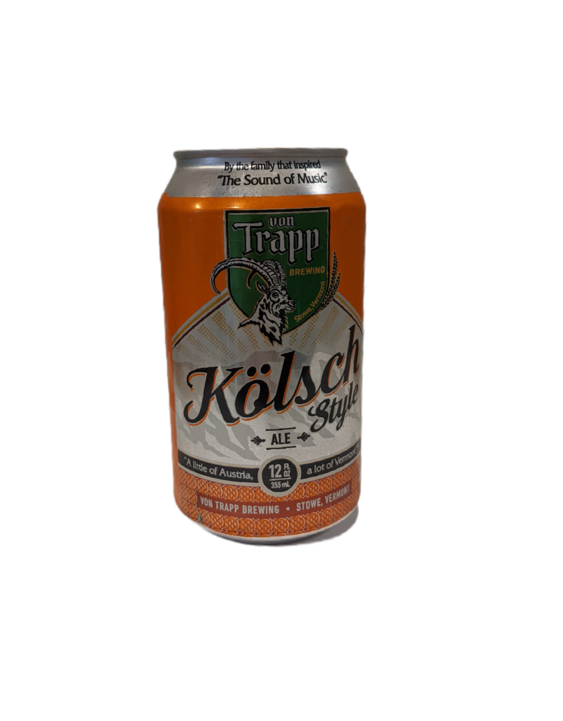 Von Trapp Kolsch Style Ale single 12 oz can