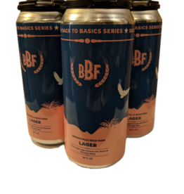 Brookeville Beer Farm Vienna Lager 4pk 16oz cans