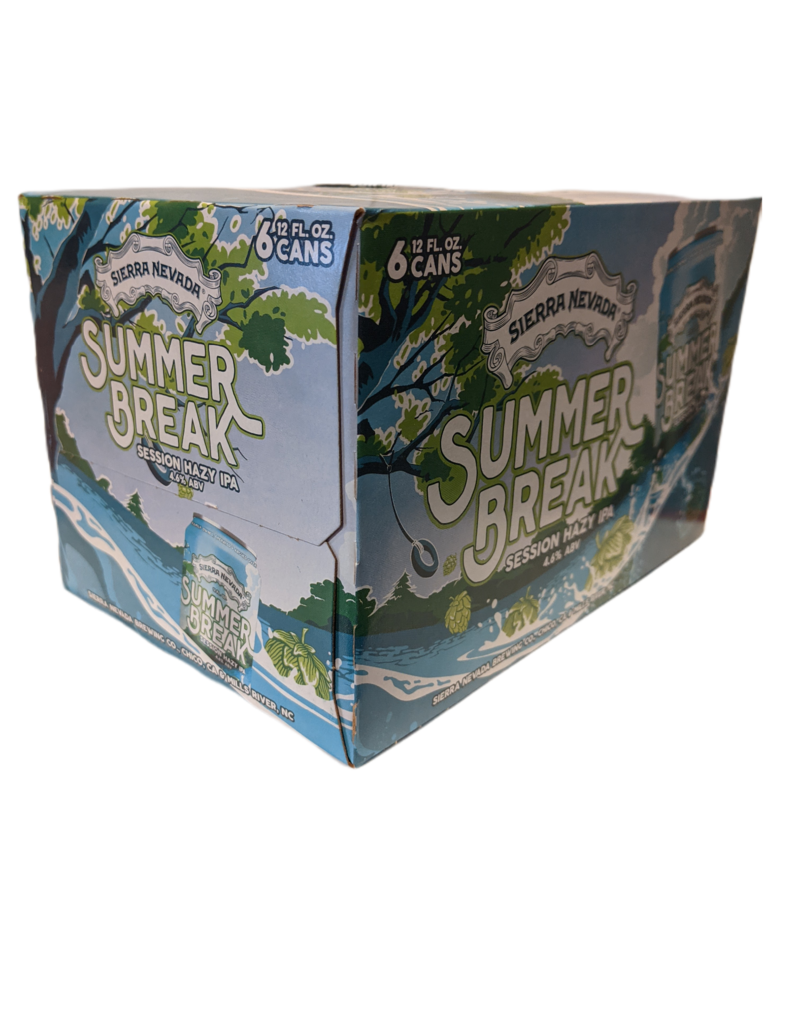 Sierra Nevada Summer Break Hazy session IPA  6pk  12 oz cans