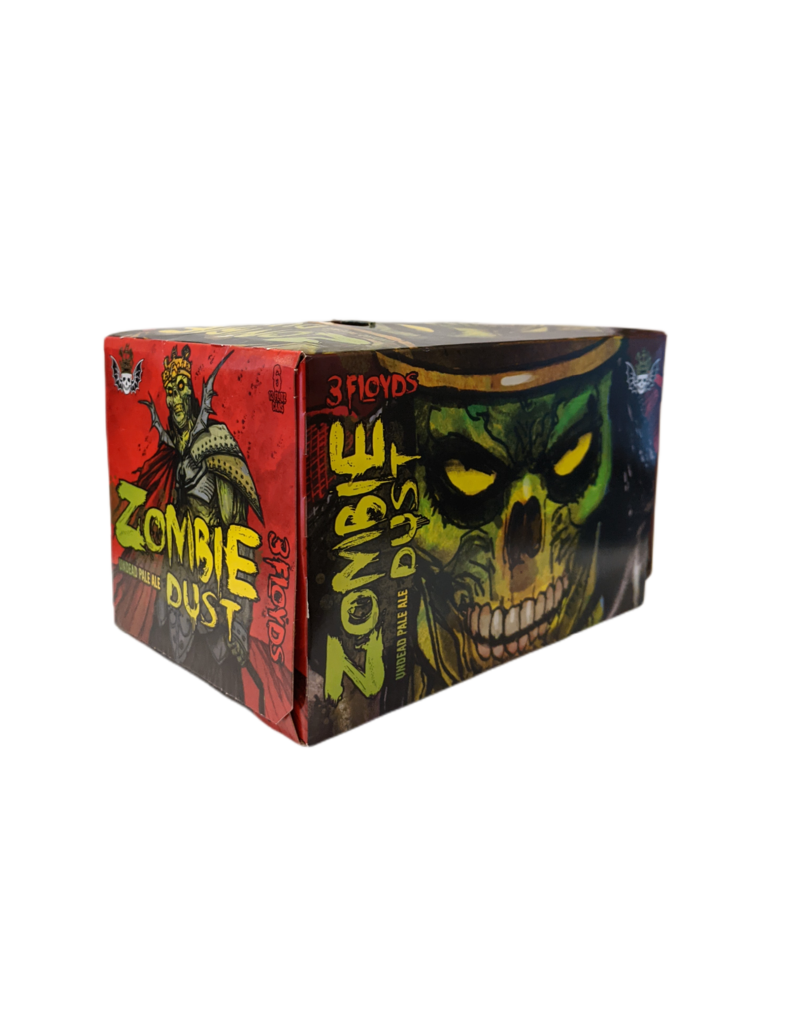 3  Floyds Zombie Dust IPA 6pk 12oz cans