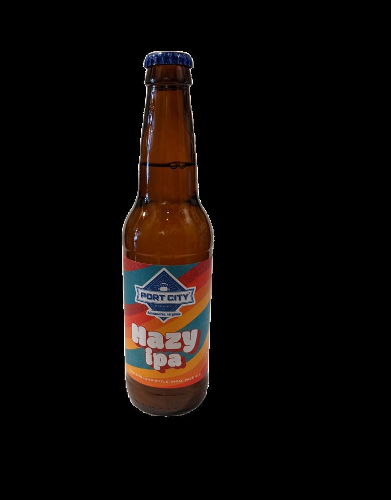 Port City Hazy IPA Single 12oz. bottle