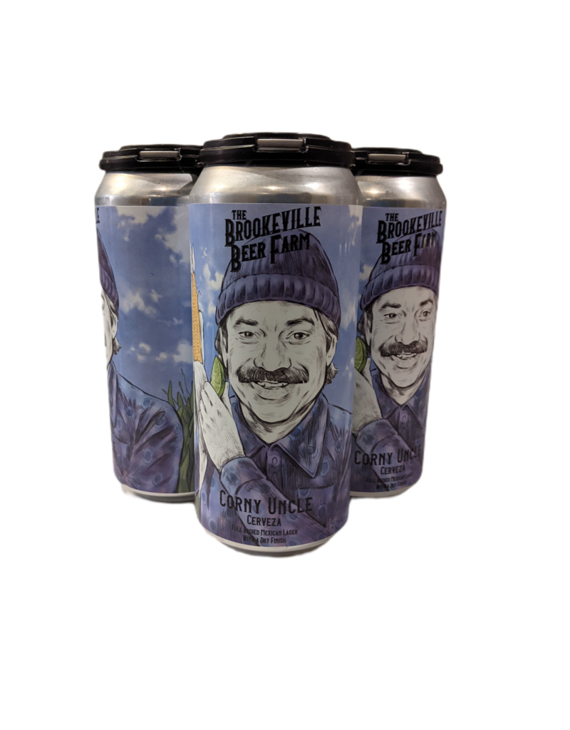 Brookeville Beer Farm Brookeville Beer Farm Corny Uncle Mexican Lager 4pk 16oz. cans