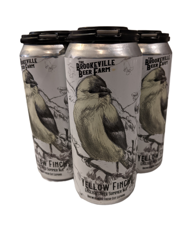 Brookeville Beer Farm Yellow Finch Summer Ale 4pk 16oz. cans