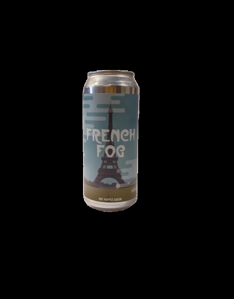 Cushwah 'French Fog' dry hopped Saison single 16 oz can