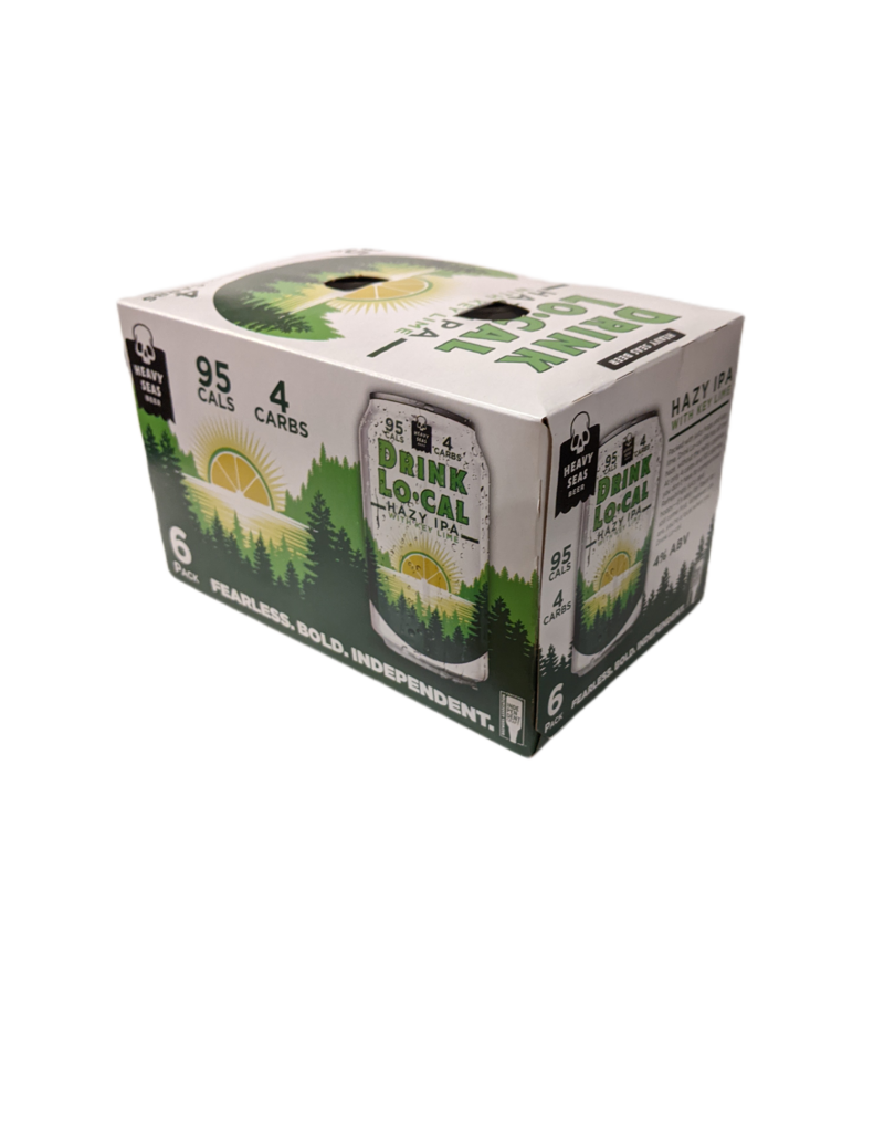 Heavy Seas 'Drink Lo-Cal' hazy IPA w/ lime 6pk 12 oz cans
