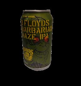 3 Floyds Barbarian Haze IPA single 12 oz can