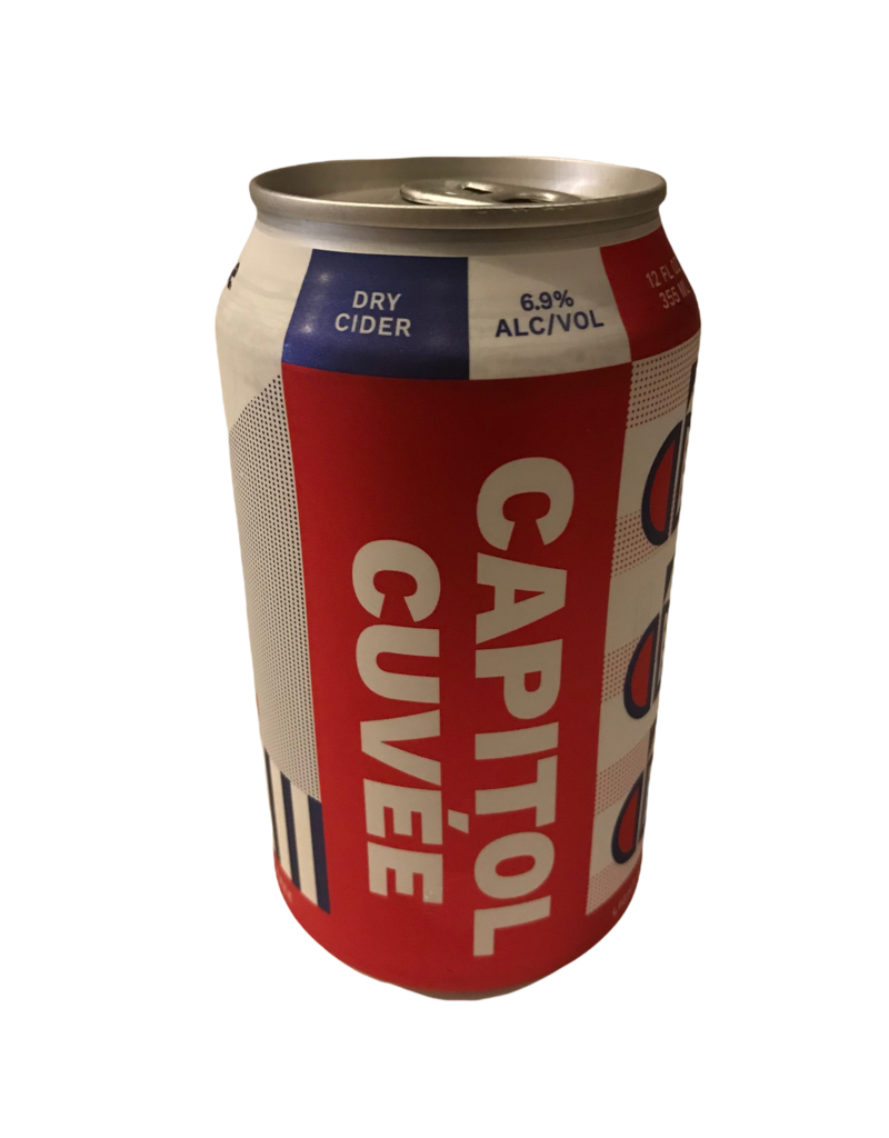 Capitol Cider House Cuvee Single 12oz. can