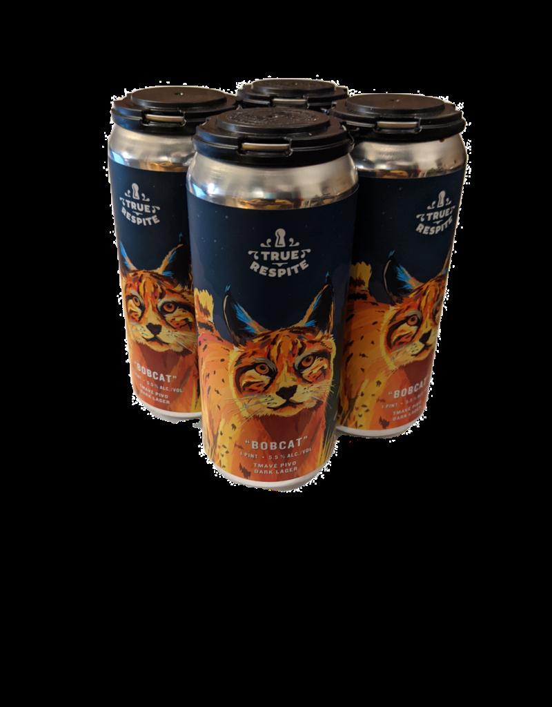 True Respite Bobcat Tmave Pivo Dark Lager 4pk 16oz. cans