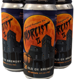 Old Ox 'Oxorcist II' Imperial Pumpkin Ale 4pk 16 oz. cans