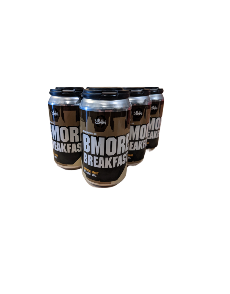 Oliver Brewing 'Bmore Breakfast Stout' 6pk 12 oz cans