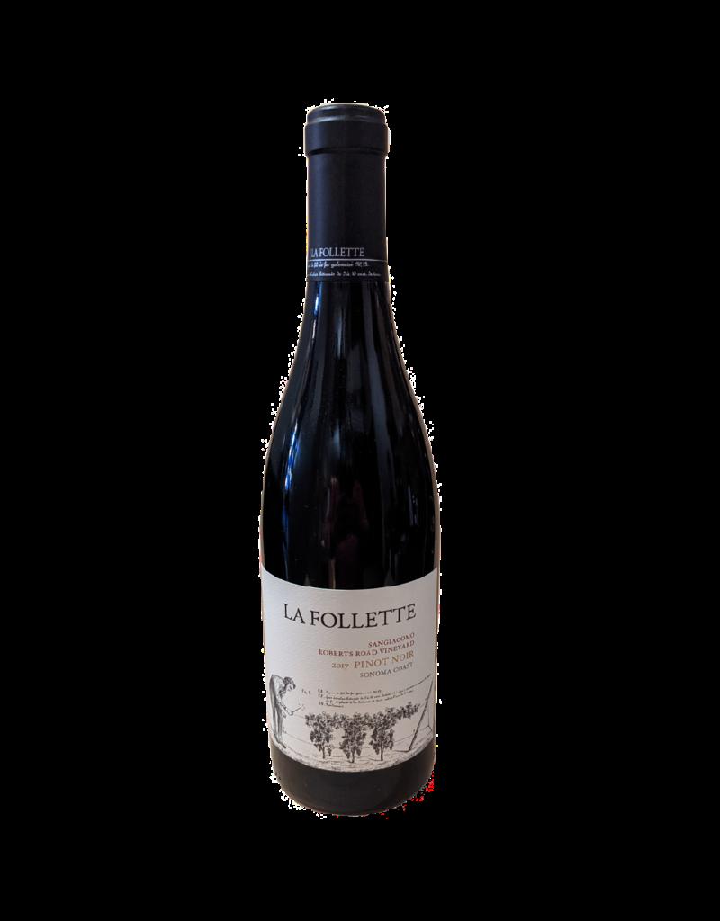La Follette 'Sangiacomo' Pinot Noir Anderson Valley 2017