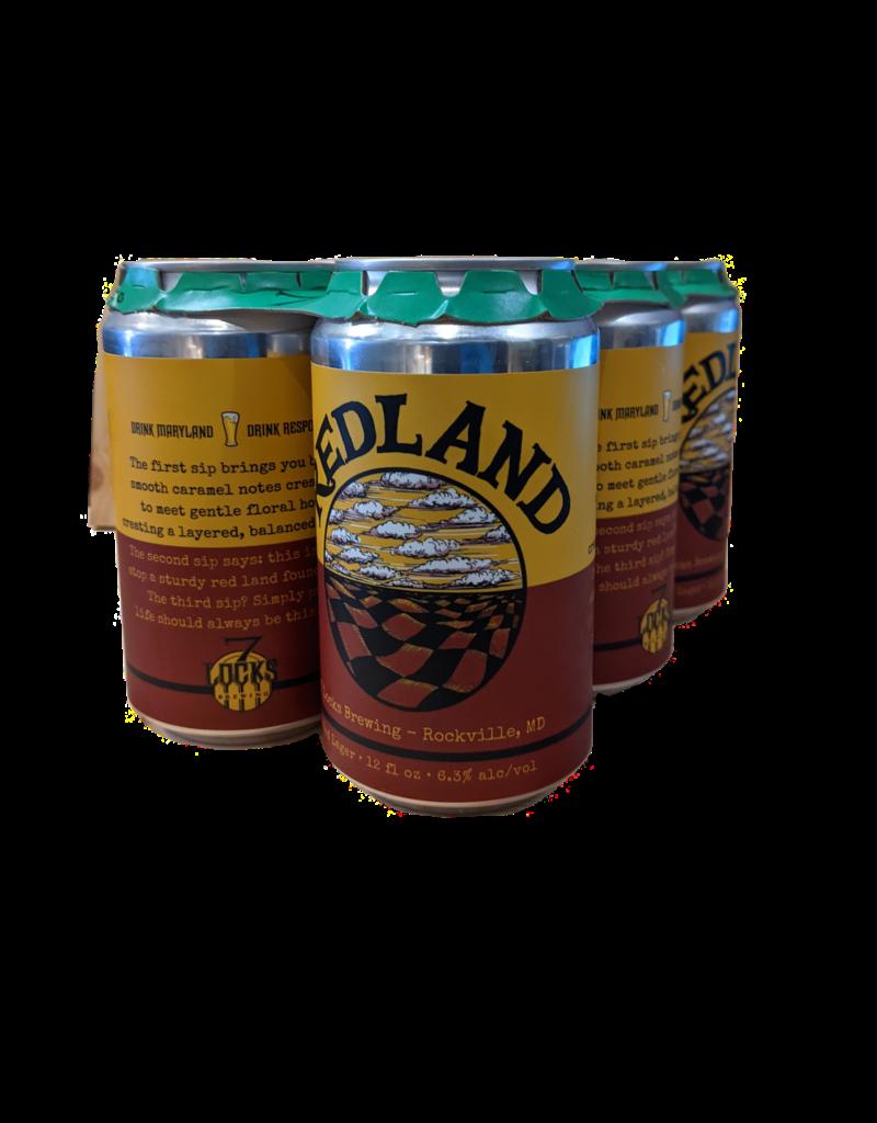 7 Locks Brewing Redland Lager 6pk 12 oz.  cans