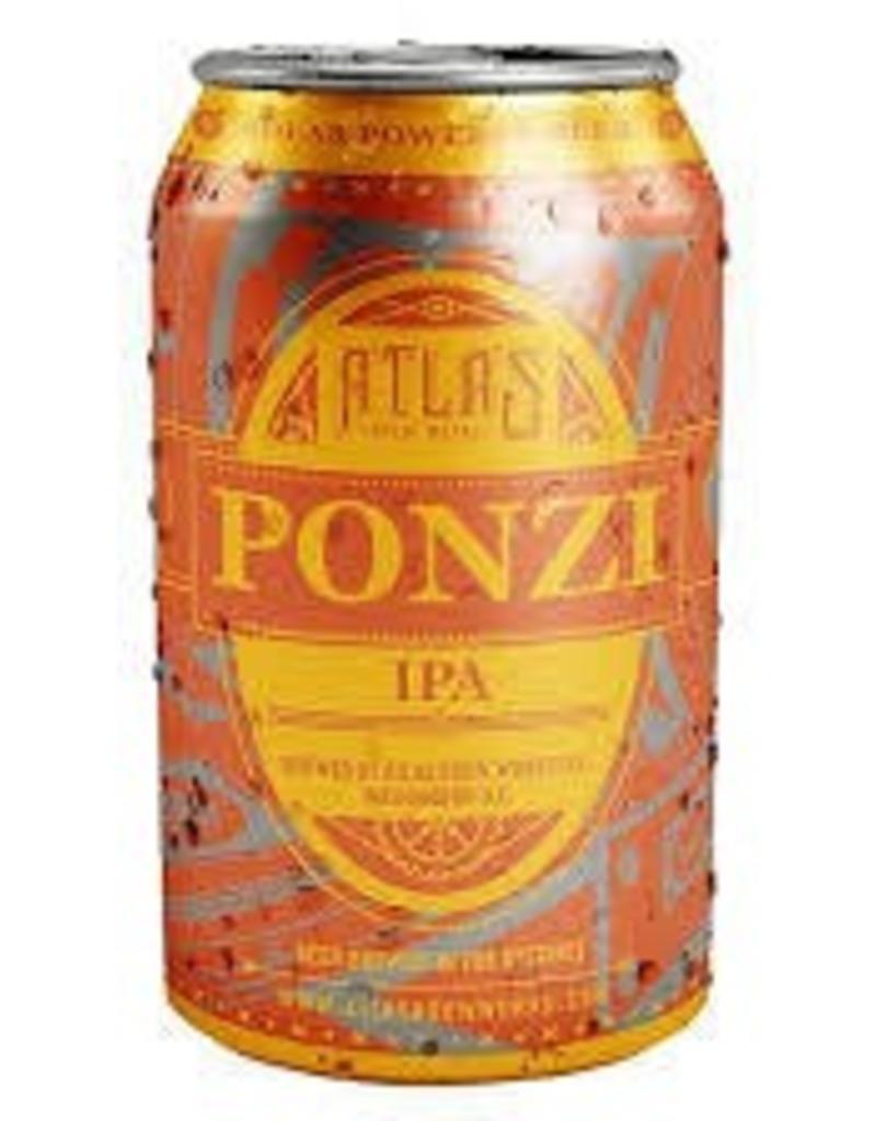 Atlas Brew Works Ponzi 6pk 12oz cans