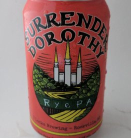"7 Locks Brewing 7 Locks Brewing ""Surrender Dorothy"" Rye PA 6pk cans"